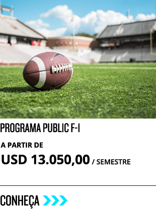 Programa Public F-1 do high school nos estados unidos com o STB