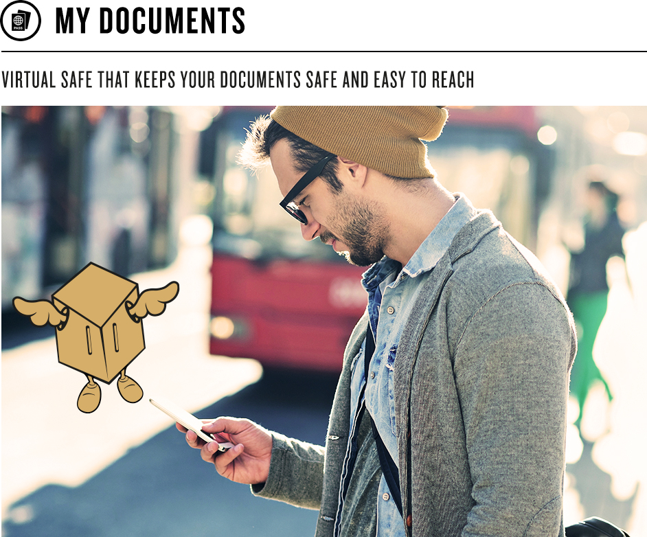 My documents - app Tripbox